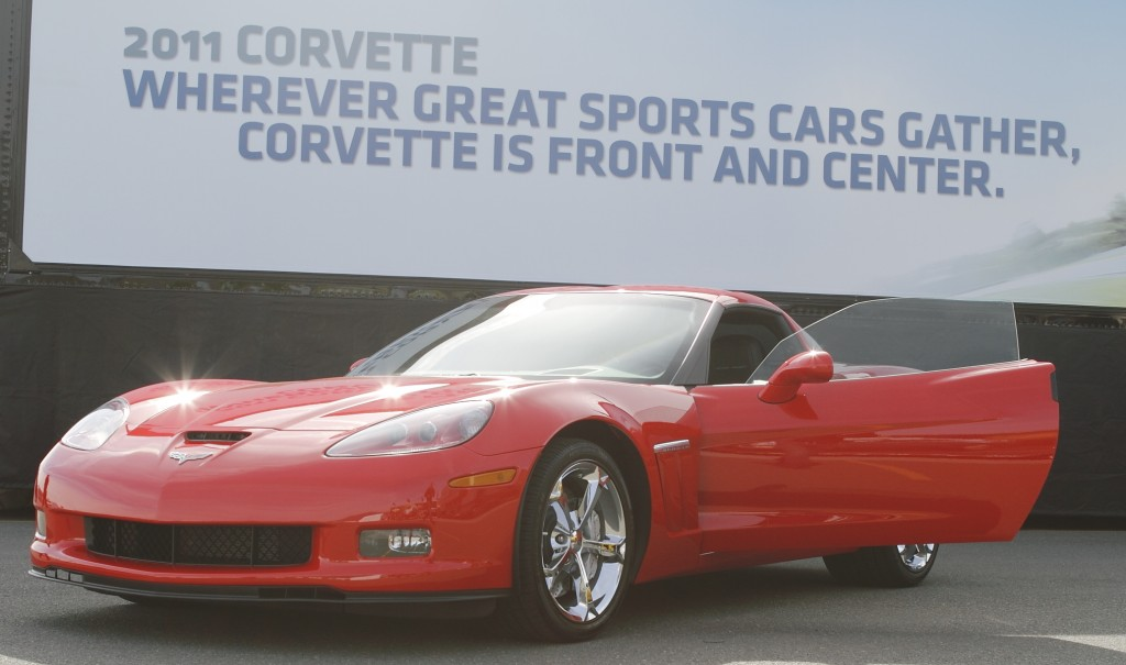 Red Chevrolet Corvette
